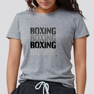 BOXINGBOXING Womens Tri-blend T-Shirt