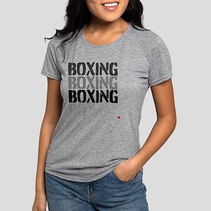 BOXINGBOXING Womens Tri-blend T-Shirt