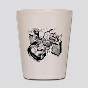 Cutaway Camera Shot Glass