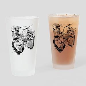 Cutaway Camera Drinking Glass