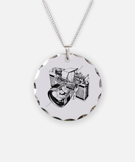 Cute Photography Necklace