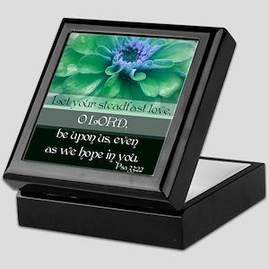 Encouraging Scripture Keepsake Box