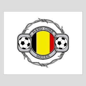 Belgium Soccer Small Poster