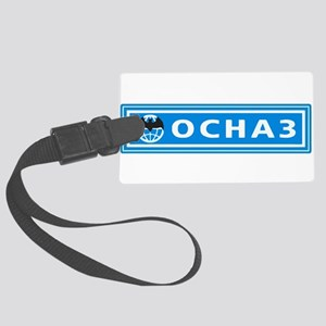 OSNAZ patch Large Luggage Tag