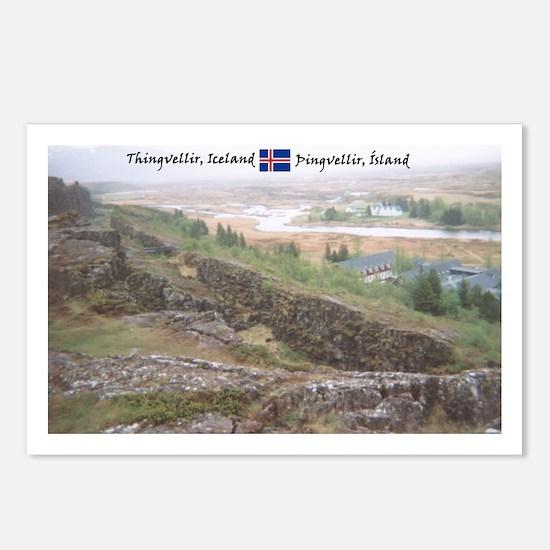 Dream-like Thingvellir Postcards (Package of 8)