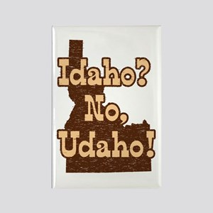 Idaho No Udaho Rectangle Magnet