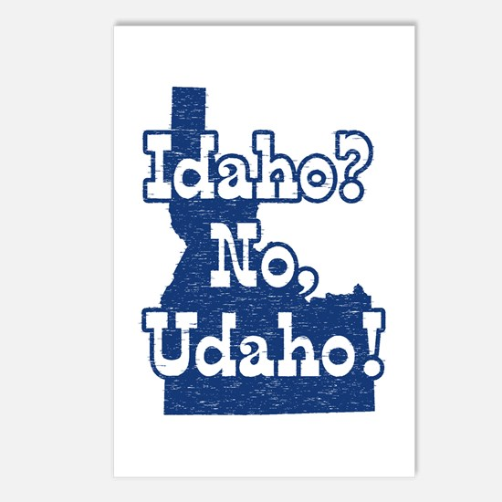 Idaho No Udaho Postcards (Package of 8)