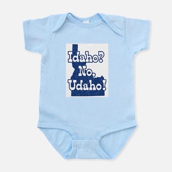 Idaho No Udaho Infant Bodysuit