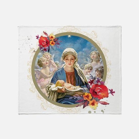 Star of Bethlehem Throw Blanket