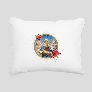 Star of Bethlehem Rectangular Canvas Pillow