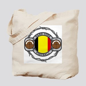 Belgium Football Tote Bag