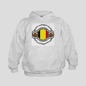 Belgium Football Kids Hoodie
