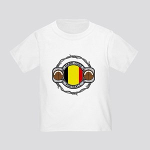Belgium Football Toddler T-Shirt