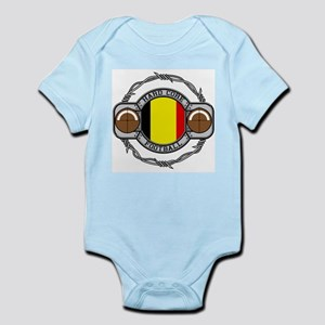 Belgium Football Infant Bodysuit
