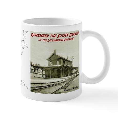 Newton station Mug