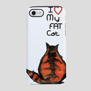 Fat Cat iPhone 7 Tough Case