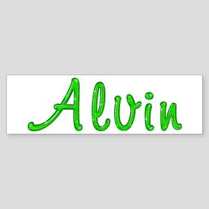 Alvin Glitter Gel Bumper Sticker