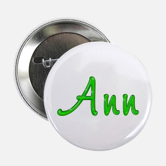 Ann Glitter Gel Button