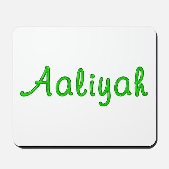 Aaliyah Glitter Gel Mousepad