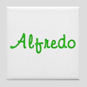 Alfredo Glitter Gel Tile Coaster