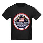 Coast Guard Sister Kids Dark T-Shirt