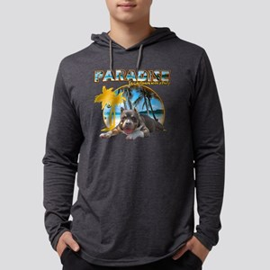 bullyinparadisecopy Mens Hooded Shirt
