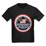 Marine Corps Cousin Kids Dark T-Shirt