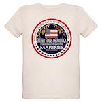 Marine Corps Dad Organic Kids T-Shirt