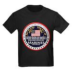 Marine Corps Dad Kids Dark T-Shirt