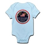 Navy Uncle Infant Bodysuit