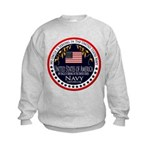 Navy Uncle Kids Sweatshirt