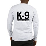 Search rescue k 9 Long Sleeve T-shirts