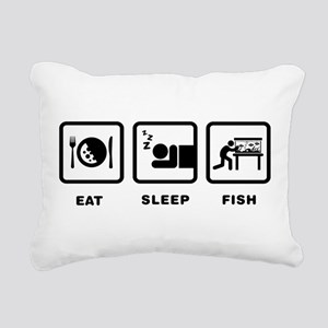 Fish Lover Rectangular Canvas Pillow