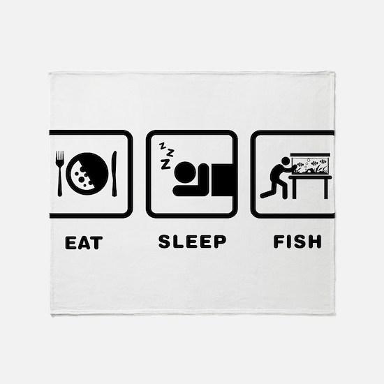 Fish Lover Throw Blanket
