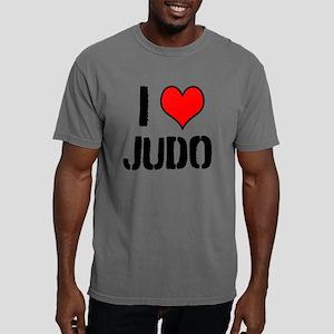 I Love JUDO Mens Comfort Colors Shirt