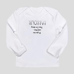 funny parkour slogan Long Sleeve Infant T-Shirt
