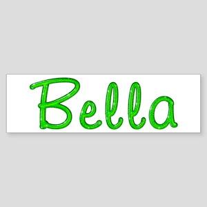 Bella Glitter Gel Bumper Sticker