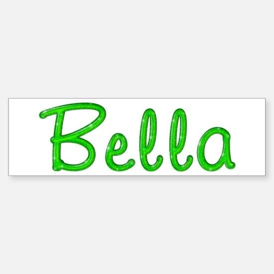 Bella Glitter Gel Bumper Bumper Bumper Sticker