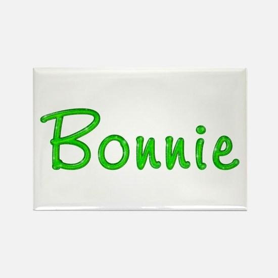 Bonnie Glitter Gel Rectangle Magnet