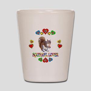 Squirrel Lover Shot Glass