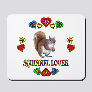 Squirrel Lover Mousepad
