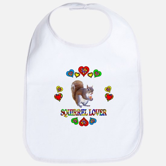 Squirrel Lover Bib