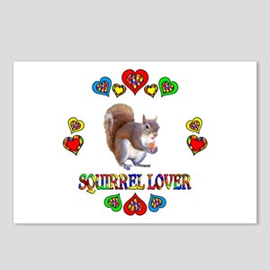 Squirrel Lover Postcards (Package of 8)