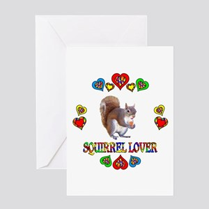 Squirrel Lover Greeting Card