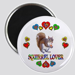Squirrel Lover Magnet