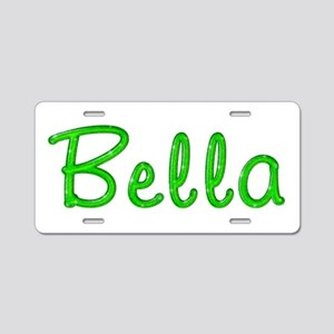 Bella Glitter Gel Aluminum License Plate