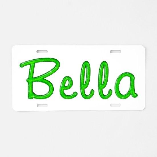 Bella Glitter Gel Aluminum License Plate