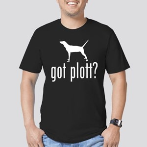 Plott Hound Black T-Shirt T-Shirt