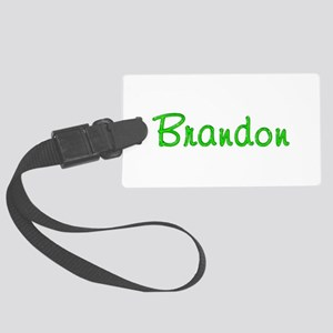 Brandon Glitter Gel Large Luggage Tag