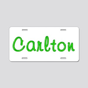 Carlton Glitter Gel Aluminum License Plate
